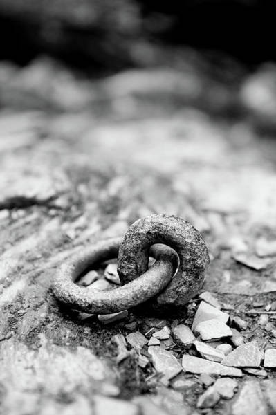 Photograph - Metal Ring II by Helen Northcott