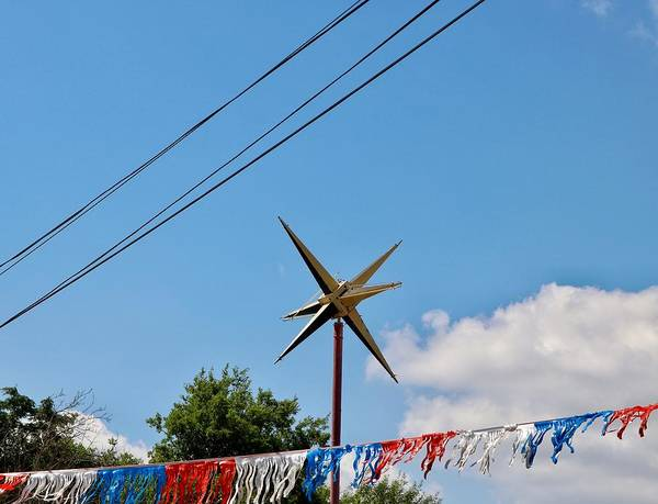 Photograph - Metal Star In The Sky by Gia Marie Houck