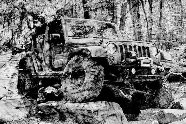 Photograph - Metallic Jeep Jku Wrangler by Luke Moore