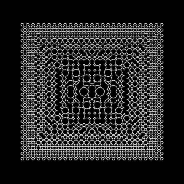 Digital Art - Metallic Lace Bxi by Robert Krawczyk