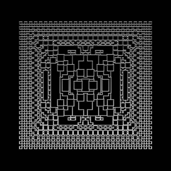 Digital Art - Metallic Lace Bxii by Robert Krawczyk