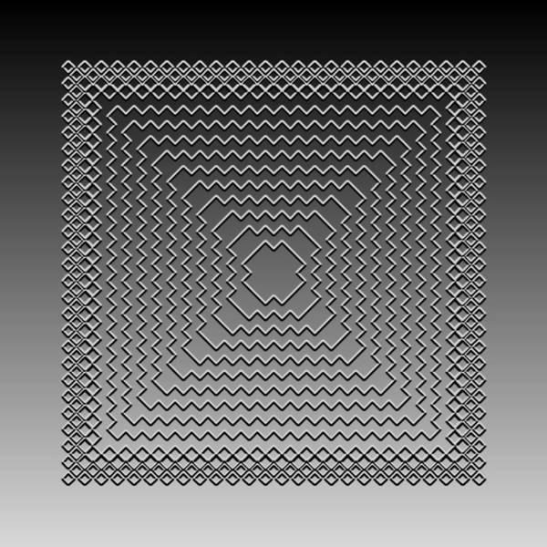 Digital Art - Metallic Lace Civ by Robert Krawczyk