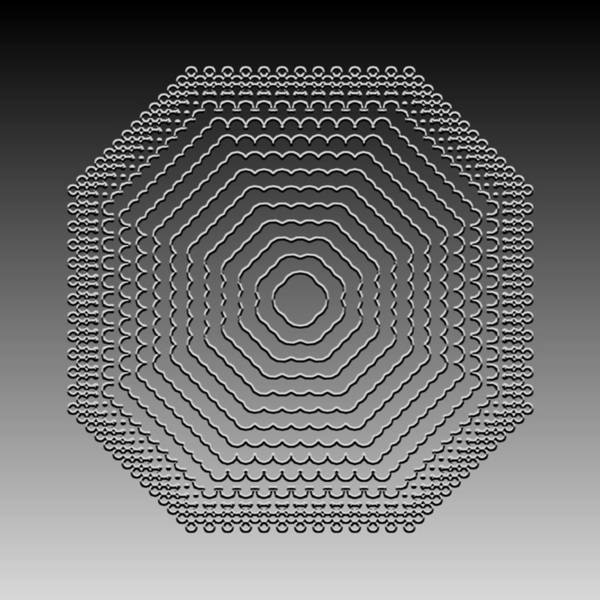 Digital Art - Metallic Lace Cv by Robert Krawczyk