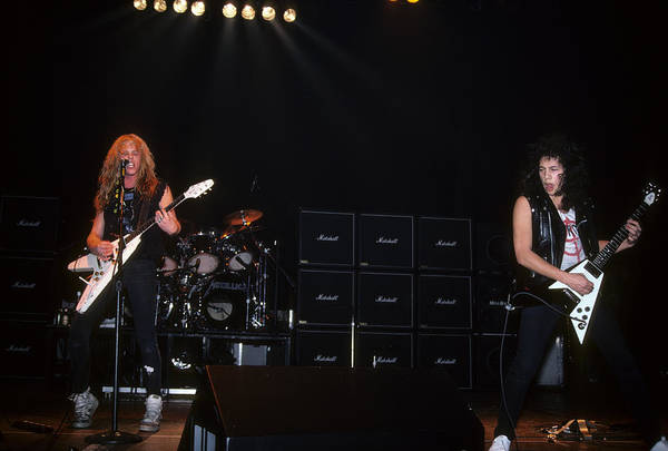 Photograph - Metallica At The Tower Theatre by Rich Fuscia