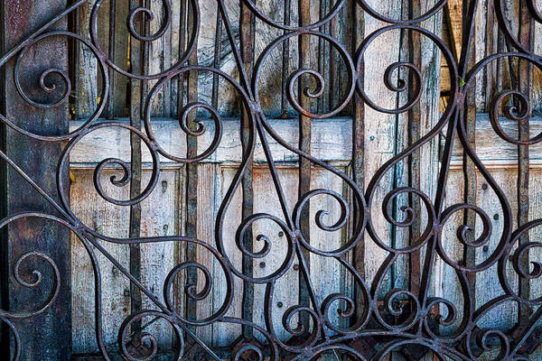 Photograph - Metalwork And Doors #2 by Stuart Litoff