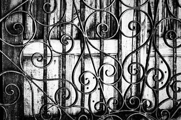 Photograph - Metalwork And Doors by Stuart Litoff