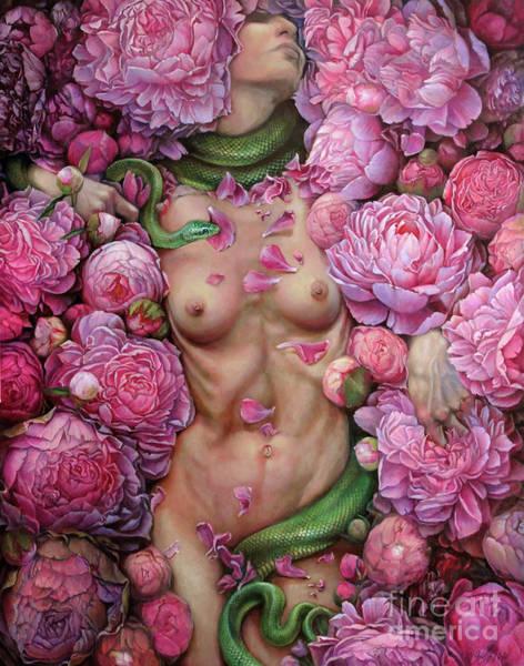Wall Art - Painting - Metamorfoza - Awakening by Graszka Paulska