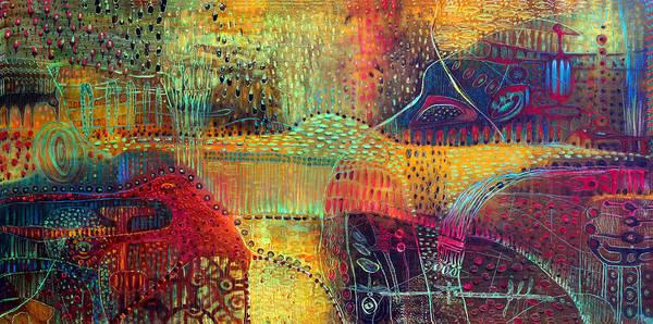 Surrealistic Painting - Metamorphosis by Lolita Bronzini