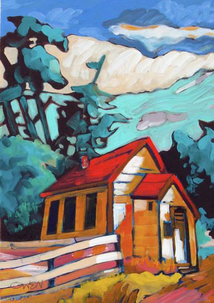 Painting - Metchosin School by Rob Owen