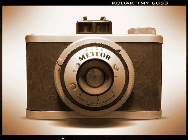 Wall Art - Photograph - Meteor Film Camera by Mike McGlothlen