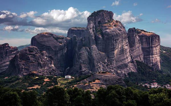 Wall Art - Photograph - Meteora At Dawn by Jaroslaw Blaminsky