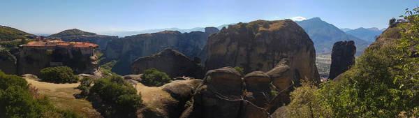 Wall Art - Photograph - Meteora Rock Panorama by Iordanis Pallikaras