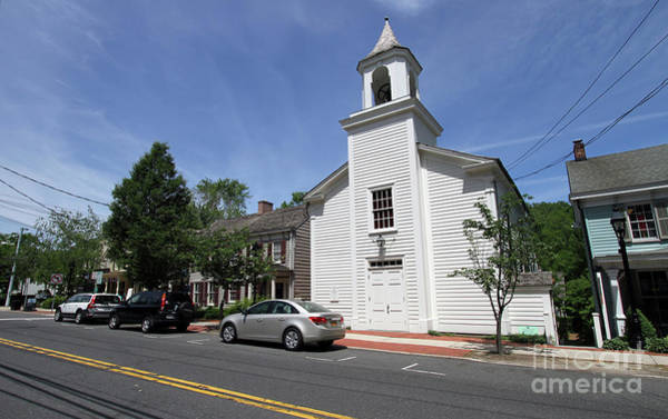 Photograph - Methodist Church Of Cold Spring Harbor by Steven Spak