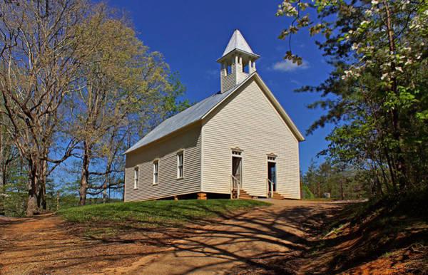 Photograph - Methodist Church by Sandy Keeton