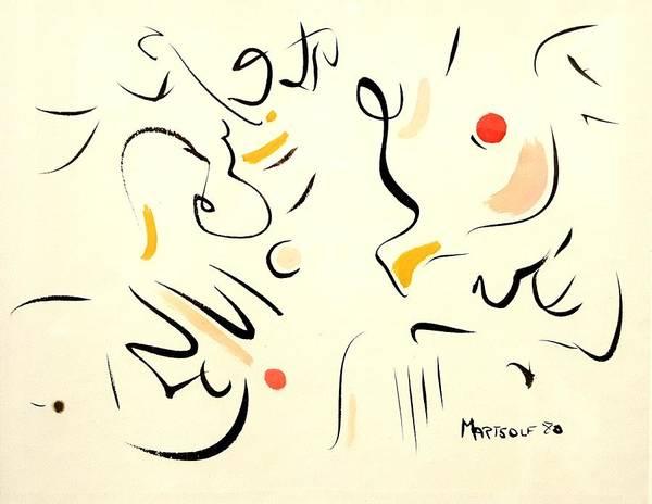Drawing - Methuselah by Dave Martsolf