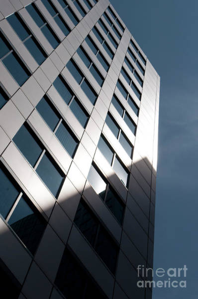 Nikon D5000 Photograph - Metro Hall Windows by Gary Chapple