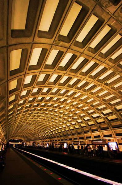 Washington Photograph - Metro Station by Mitch Cat