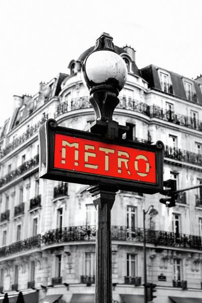 Photograph - Metro by Susan Maxwell Schmidt