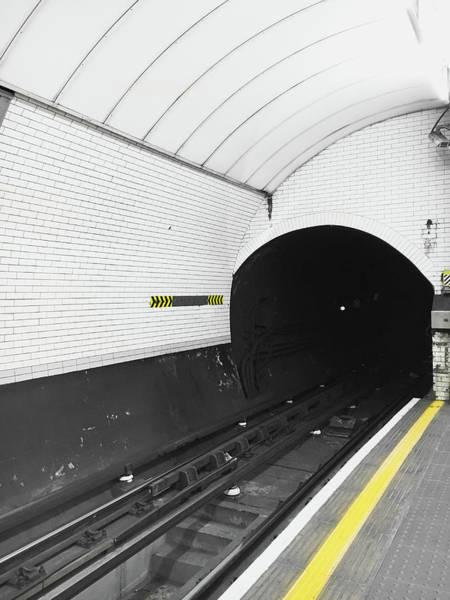 High Speed Photograph - Metro Train Station by Tom Gowanlock