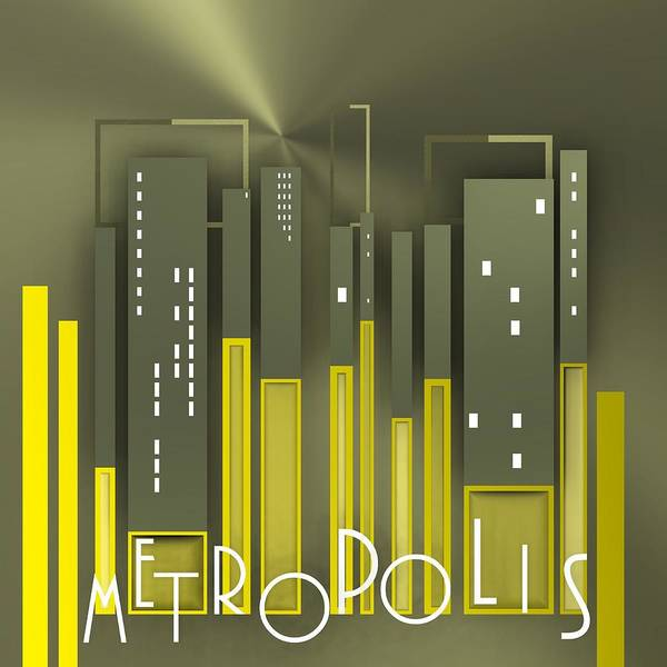 Digital Art - Metropolis 1 by Alberto RuiZ