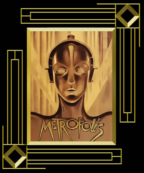 Digital Art - Metropolis - Frame 5 by Chuck Staley