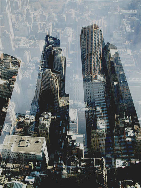 Twin Cities Photograph - Metropolis IIi  by David Studwell