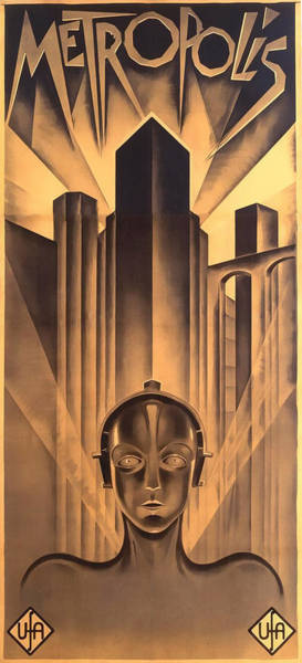 Digital Art - Metropolis Poster by Chuck Staley
