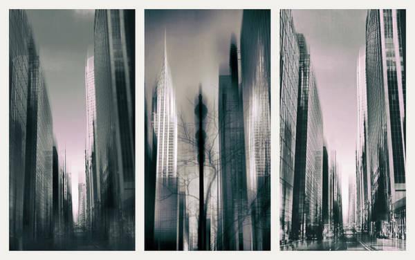 Photograph - Metropolis Triptych II by Jessica Jenney