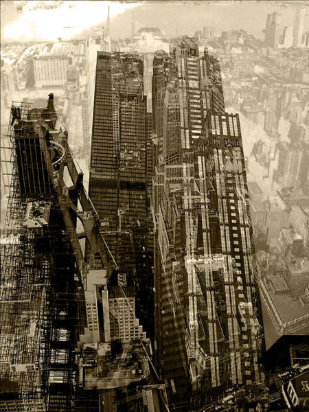 Twin Cities Photograph - Metropolis V by David Studwell