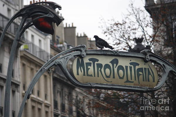 Photograph - Metropolitain by Wilko Van de Kamp