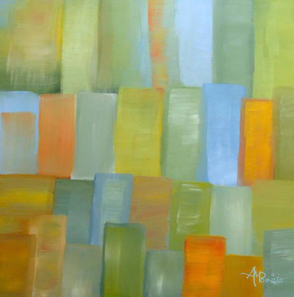 Painting - Metropolitan by Angeles M Pomata
