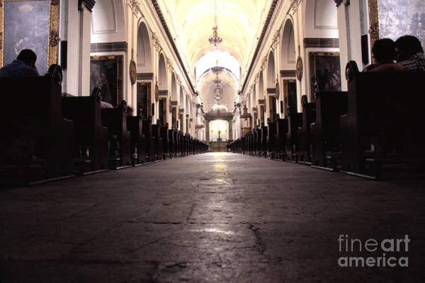 Photograph - Metropolitan Cathedral Guatemala City by Thomas R Fletcher