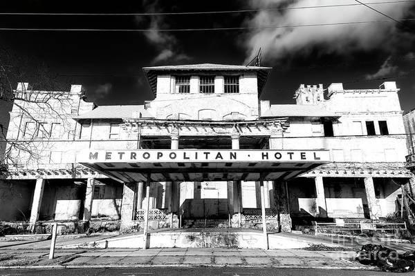 Photograph - Metropolitan Hotel Asbury Park by John Rizzuto