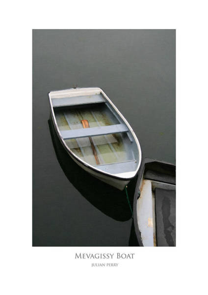 Mevagissy Boat Art Print