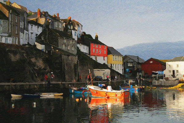 Digital Art - Mevagissy by Julian Perry