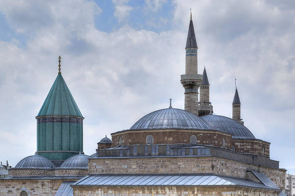 Central Asia Photograph - Mevlana Museum Konya - Turkey by Joana Kruse