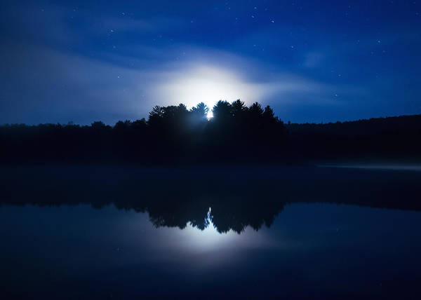 Wall Art - Photograph - Mew Lake Moonset by Cale Best