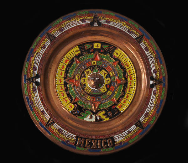Aztec Photograph - Mexican Aztec Calendar by Art Spectrum