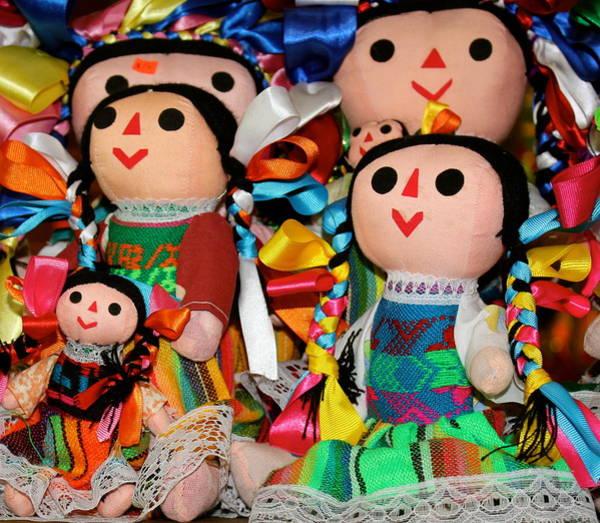 Mexican Dolls Art Print