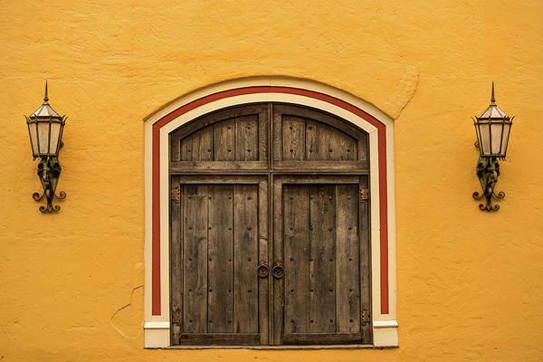 Don Johnson Photograph - Mexican Door by Don Johnson