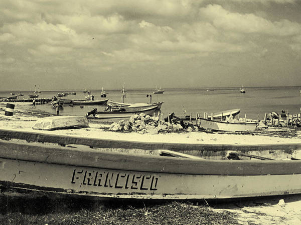 Photograph - Mexican Fishing Boats by Charles McKelroy