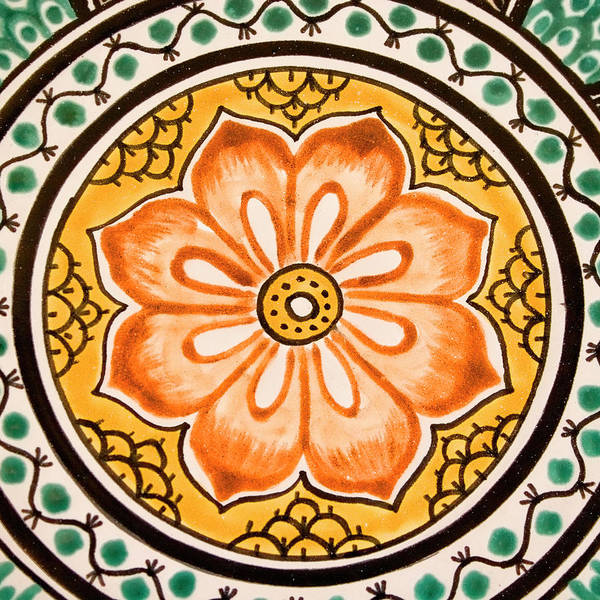 San Miguel De Allende Wall Art - Photograph - Mexican Tile Detail by Carol Leigh