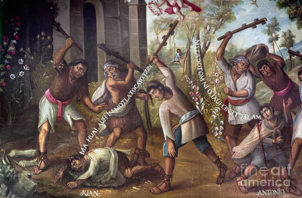Photograph - Mexico: Christian Martyrs by Granger
