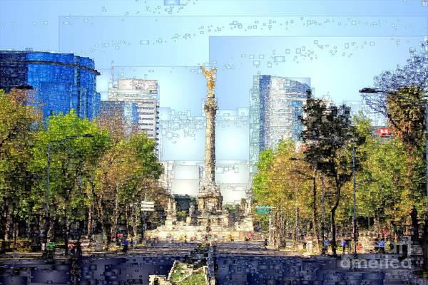 Digital Art - Mexico City D.f by Rafael Salazar