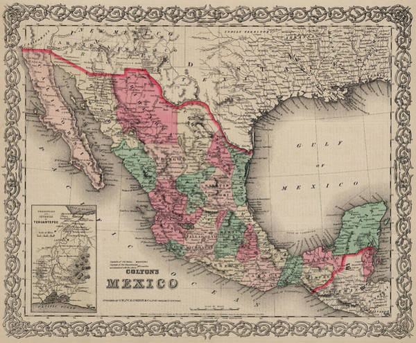 Wall Art - Painting - Mexico by Colton