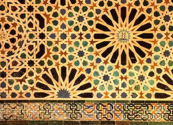 Granada Wall Art - Photograph - Mexuar Room Details Alhambra Palace by Guido Montanes Castillo