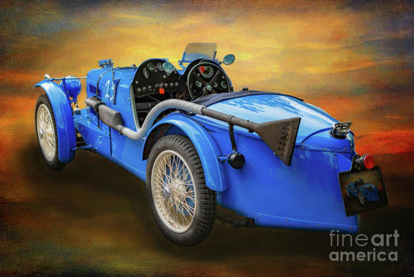 Wall Art - Photograph - Mg Sports Car by Adrian Evans