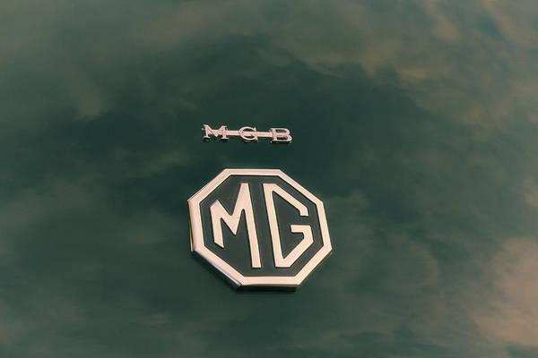Wall Art - Photograph - Mgb Badge Emblem by Georgia Fowler