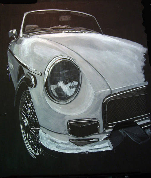 Painting - MGB by Richard Le Page