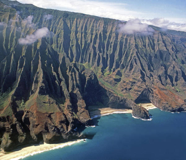 Photograph - Mi-291  Mi-293 Na Pali Wilderness Coast by Ed Cooper Photography